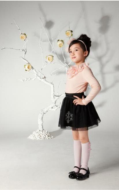 moda niñas. kids fashion. skirt girls
