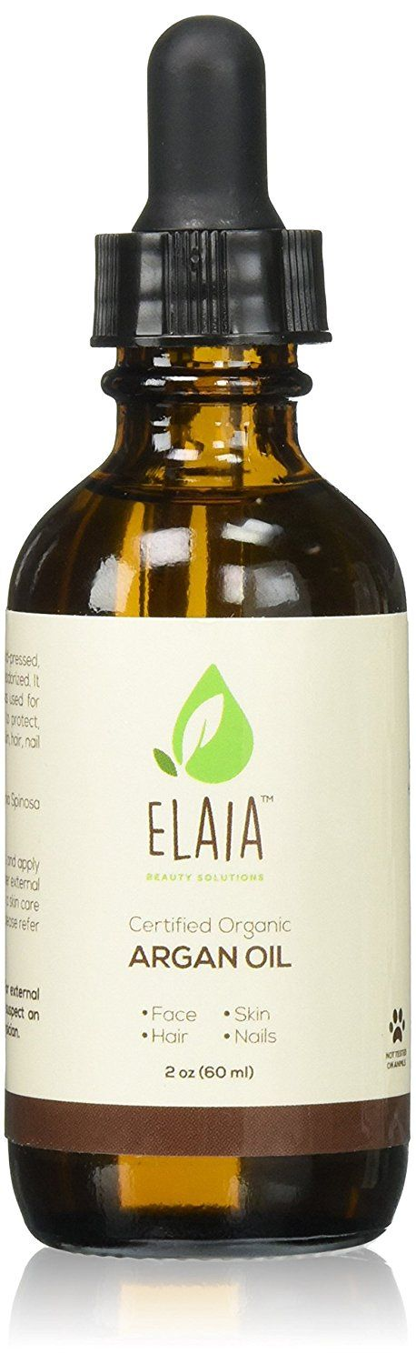 ELAIA BEAUTY SOLUTIONS Ecocert and USDA Organic Moroccan Argon Oil, 2 oz. -- Check this awesome product by going to the link at the image.