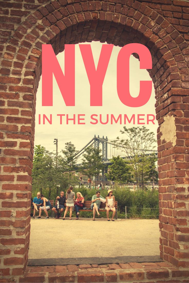 Summer is the best time to be visiting New York City. If you're headed there, what are some of the top things to do that even the locals will do?