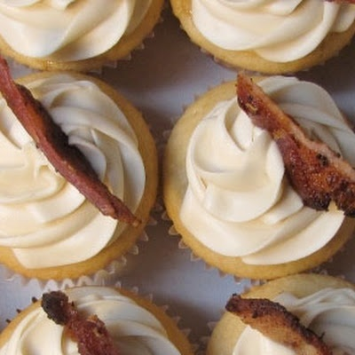 Maple Bacon Cupcakes...Father's Day?