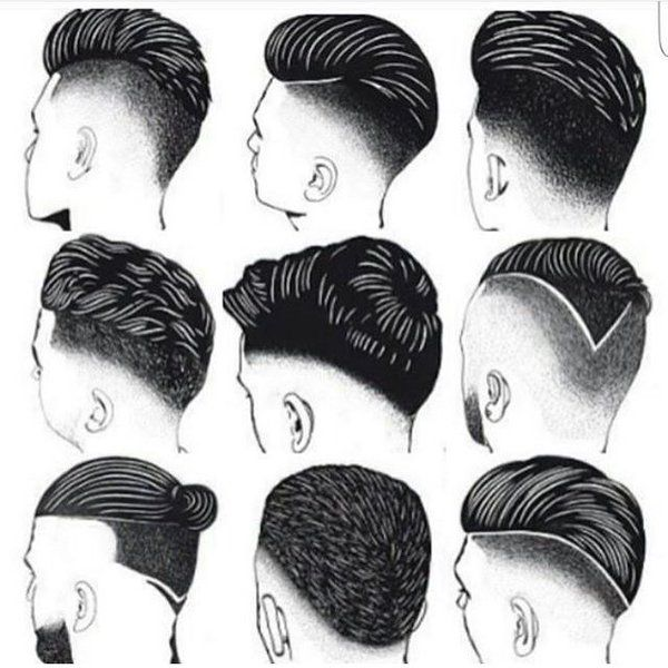 Mans hairstyle 2016