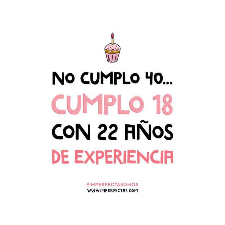 No cumplo 40 …