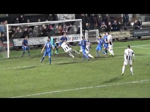 includes a great penalty save by Adam Whitehouse and goals by Josh Gordon​ and Richard Batchelor | Stafford Rangers 2 - 0 Matlock Town | Evo-Stik Prem [3.12.16]