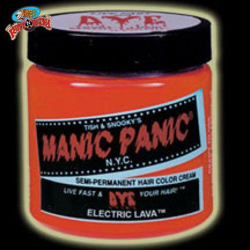 Electrify everyone with the awesomeness of Manic Panic! Check out this Electric Lava Classic Cream at ruffnready.com.au  #RuffnReady #ManicPanic #hairdye #semiperm #classiccream #electriclava