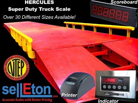 Truck Scales • Selleton NTEP Truck Scale Products