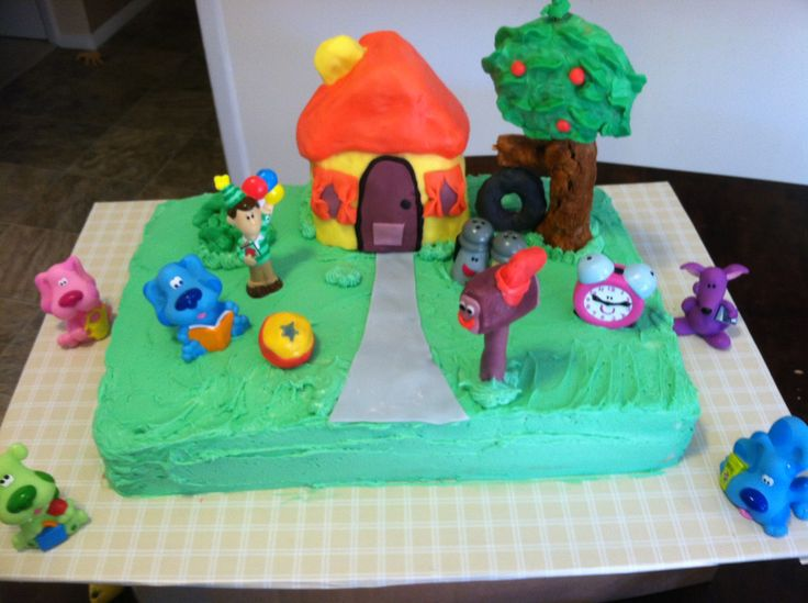 Blues Clues Birthday Cake Nick Jr