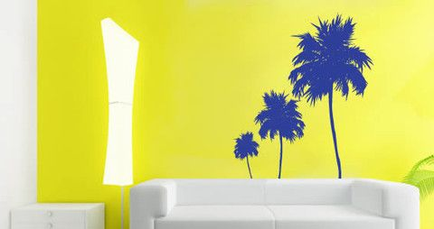 Tree wall decals for your interior If you need vacations, these three palm trees wall decals are a great way to decorate your house.   Visit this link for more designs: https://limelight-vinyl.myshopify.com/