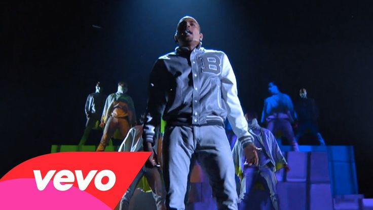 Chris Brown - Turn Up The Music / Beautiful People (54th GRAMMYs on CBS)...