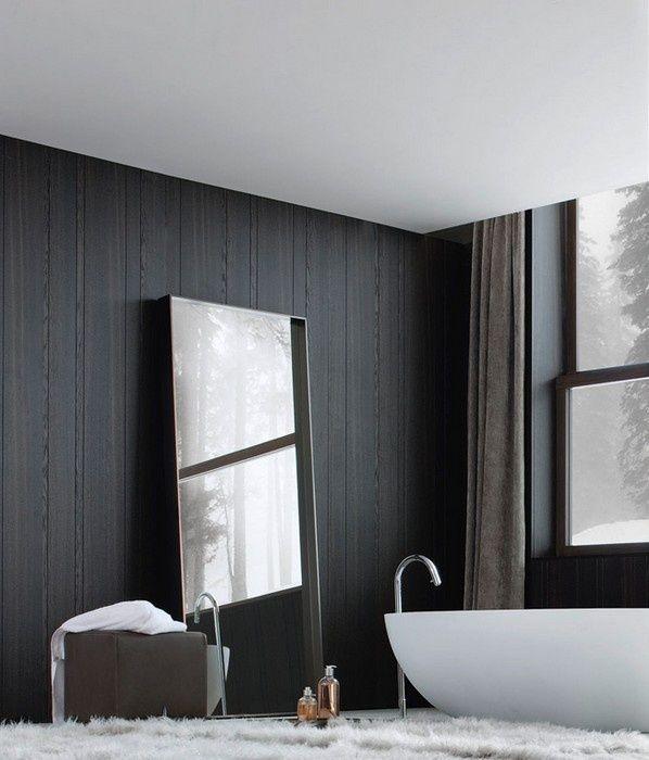 Meer dan 1000 idee n over zwarte muren op pinterest interieurontwerp zwart geschilderde muren - Zwarte muur in de woonkamer ...