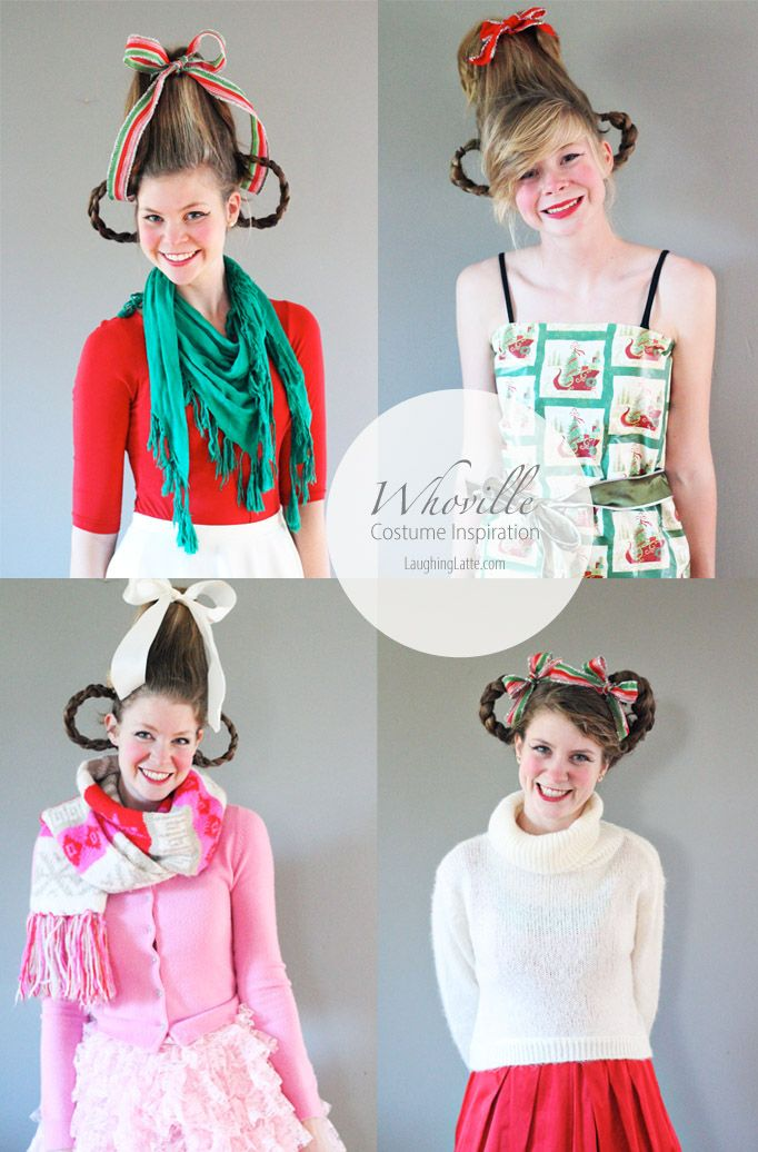 214 best grinch christmas images on pinterest xmas merry 3 ways to assemble the ultimate whoville costume free grinch mask solutioingenieria Image collections