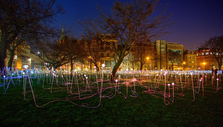 Because the outdoor art is dazzling.   53 Reasons Living In Edinburgh Ruins You For Life