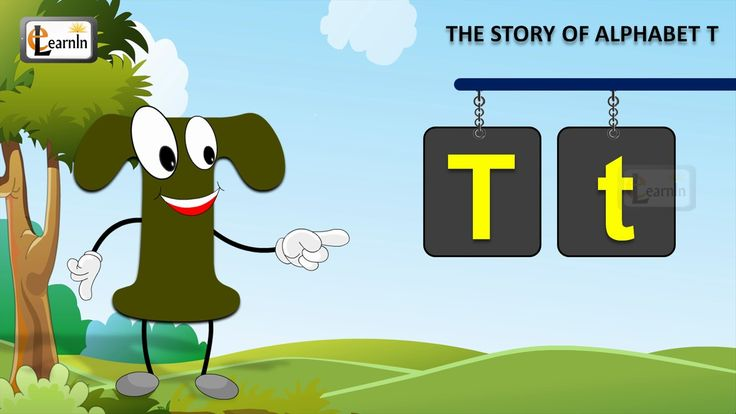 The T Song | Letter T song | Story of letter T | Abc songs | Learning en...
