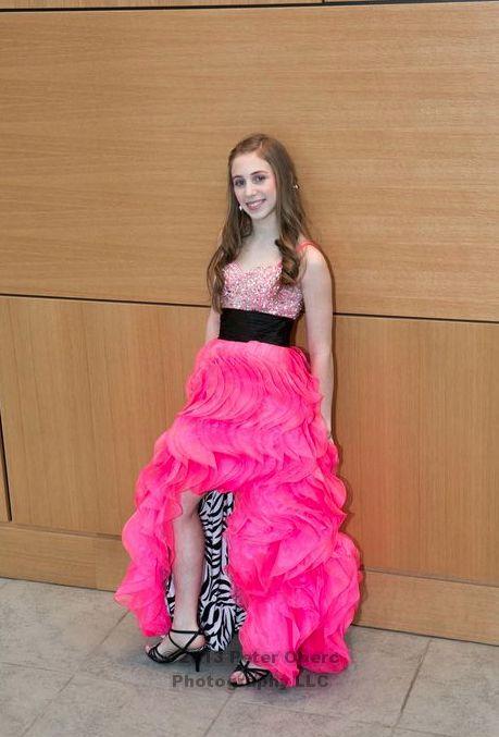 Bat Mitzvah Dress Neon Pink Amp Zebra Bat Mitzvah Party