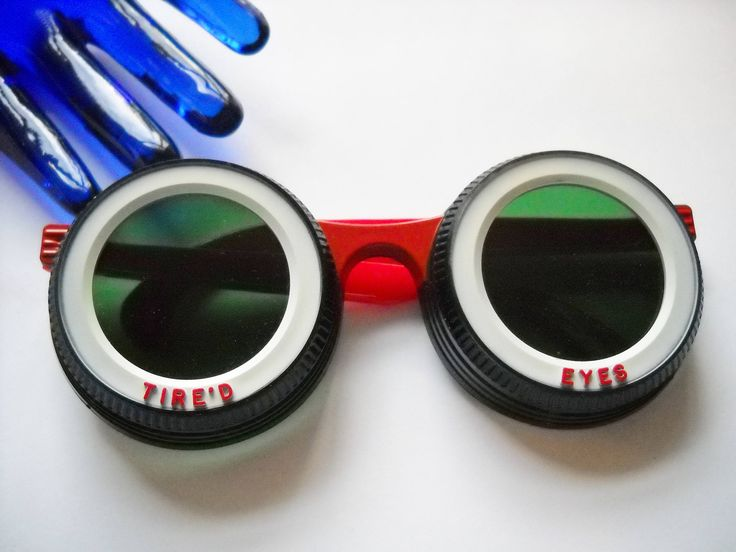 Excited to share the latest addition to my #etsy shop: Novelty Sunglasses A.C. Gilbert 1966 Tire White Walls TIRE'D EYES Designer Signed Red Black White Akron Rubber City DEVO Rocker Boho http://etsy.me/2AE3u5O #accessories #eyewear #red #birthday #christmas #black #noveltysungla