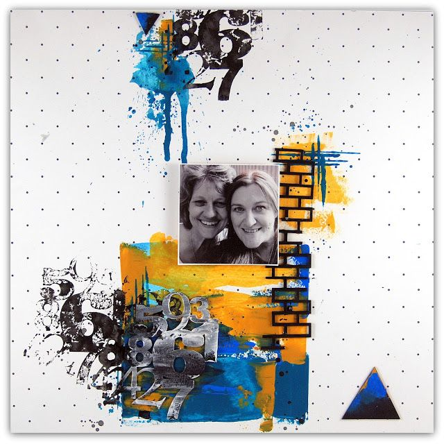 2Crafty Chipboard - Fiona's October Shares