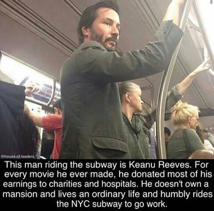 "A TRUE STORY about Keanu Reeves:  ""Most people know me but don't know my story. At the age of 3 I watched my father leave. I attended four different high schools and struggled with dyslexia making my education more challenging than it is for most. Eventually I left high school without earning a diploma. . At the age of 23 my closest friend River Phoenix died of a drug overdose. . In 1998 I met Jennifer Syme. We fell instantly in love and by 1999 Jennifer was pregnant with our daughter. Sadly…"