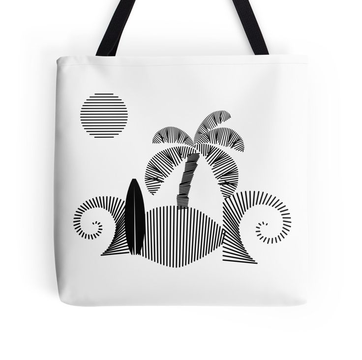 tropical #island  by abstractify-me #tote bag #redbubble http://www.redbubble.com/people/abstractify-me/works/21731357-tropical-island?p=tote-bag
