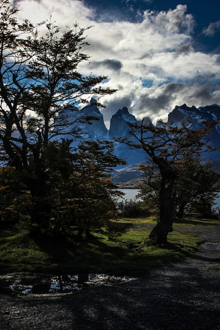 Lago Pehoe. Chile