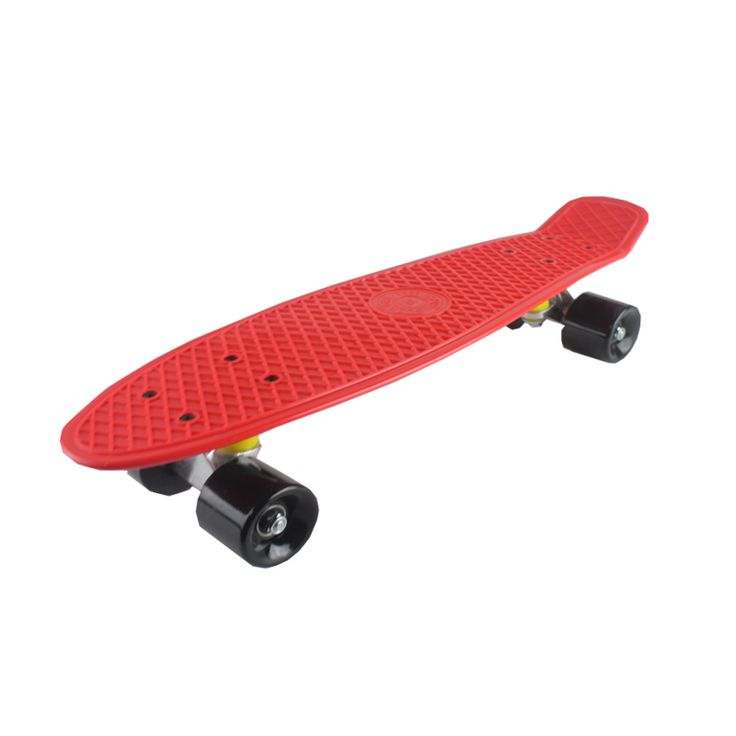 5 color pastel en las cuatro ruedas 22 pulgadas mini cruiser calle patineta tabla larga patinaje al aire libre sports para adultos o niños
