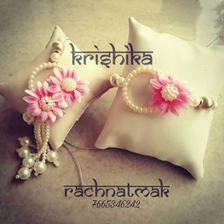#couplerakhi #rakhicollection2017 #krishika  #rachnatmakrakhi  #rachnatmak  #rakhi #floralcollection