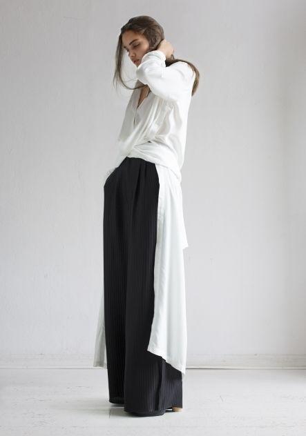 Rodebjer Shirt dress Art White