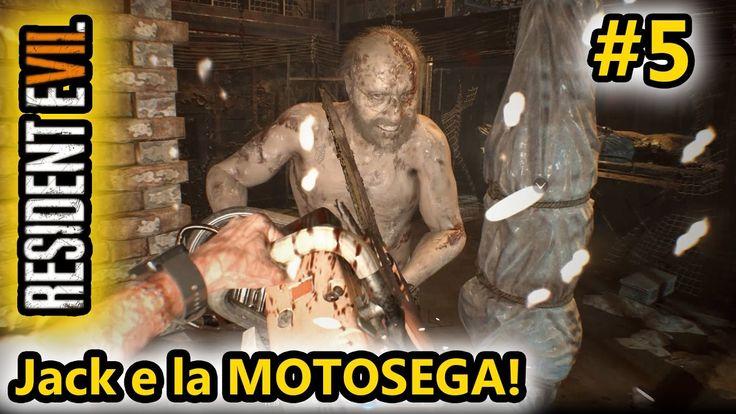 Resident Evil 7 - Jack e la MOTOSEGA! - Horror Android - (Salvo Pimpo's)