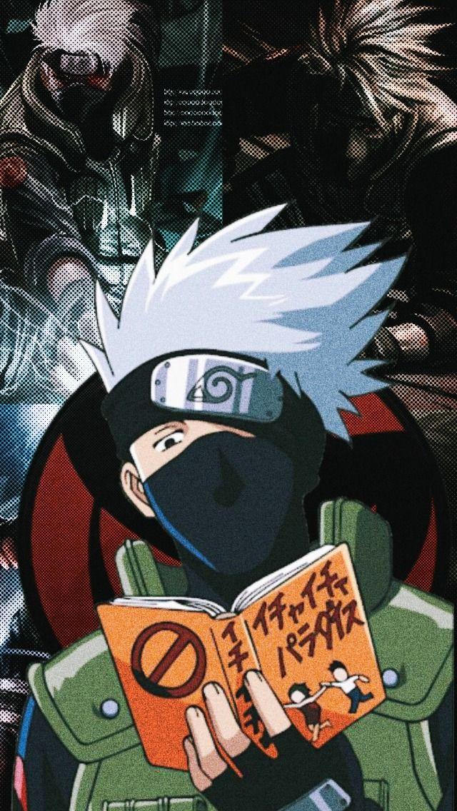 Darling In The Franxx Lockscreens Tumblr Kakashi Hatake Naruto Kakashi Wallpaper Naruto Shippuden