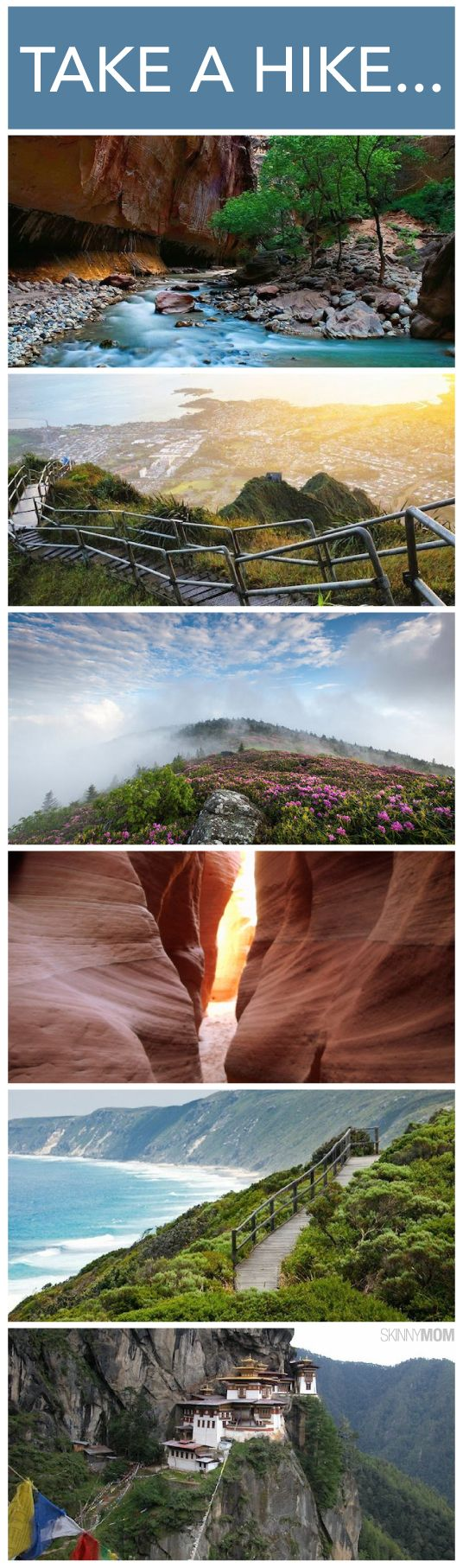 Here are some of the most amazing hiking trails around the world that you have to see!one is even in Duluth mn!
