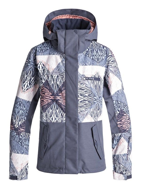 Roxy Young Girls Jetty Block Snow Jacket