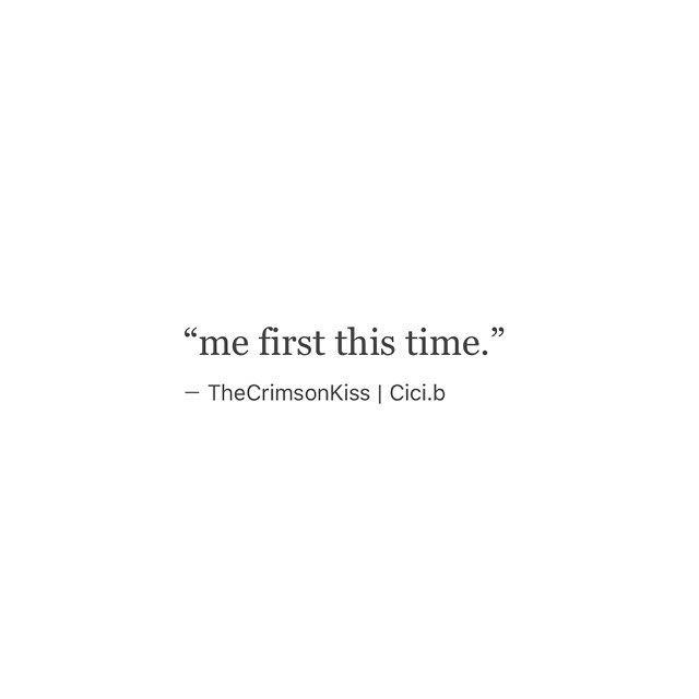 • #Cicib #thecrimsonkiss