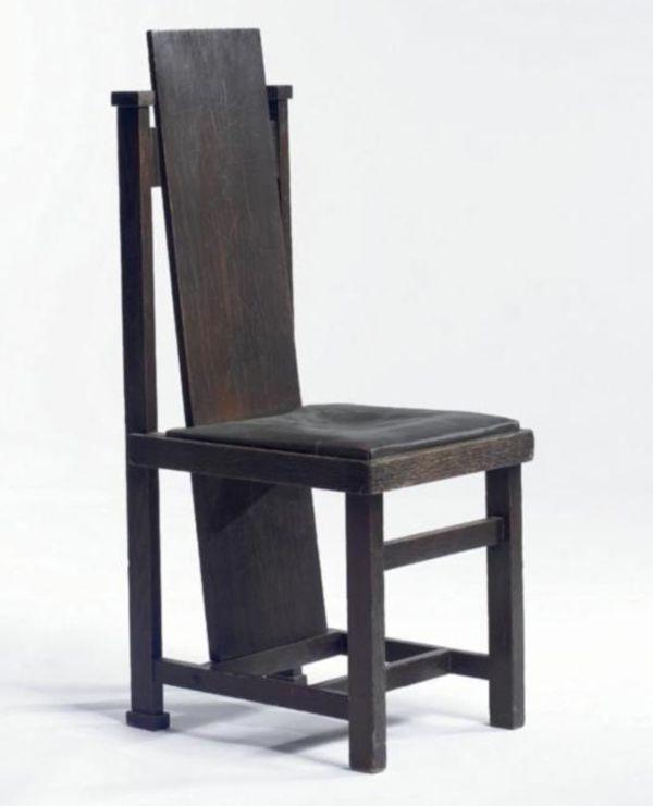 Lovely High Back Chair By Frank Lloyd Wright   Chair Blog