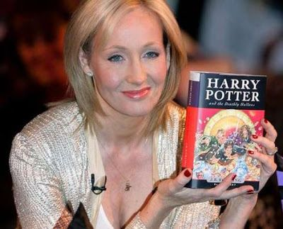 J K ROWLING - Everything is achievable if you believe in yourself, truly is the case with J K Rowling. I completely respect her creativity, though I still have to finish reading the complete Harry Potter series. Still I would say that nothing is even a percent closer to what she has written. It's creative and adventurous. She has given me a world to imagine & I simply love it.