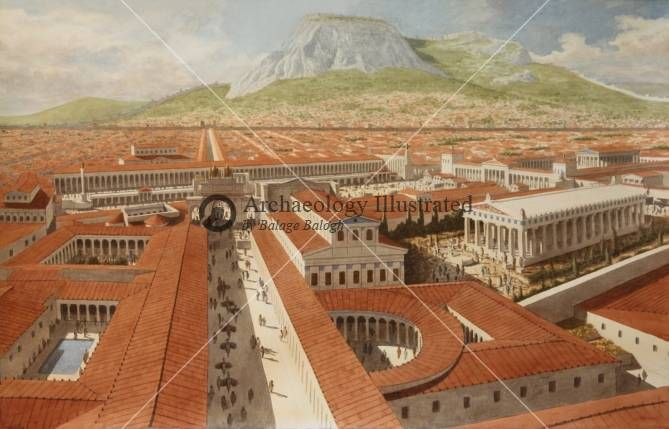 Corinth 200 AD @ Bible Illustrations, Biblical Sermon Illustrations, Christian Pictures