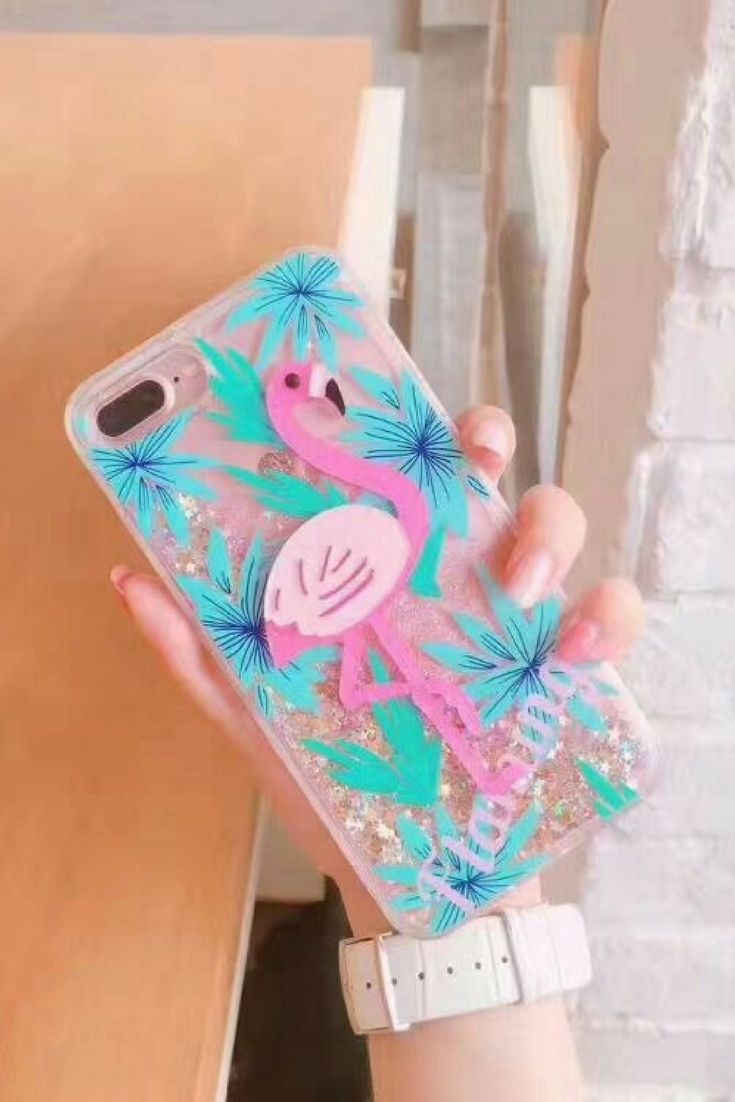 Flamingo iphone 6, iphone 6 plus, iphone 7 & iphone 7 plus protective case for cute girls