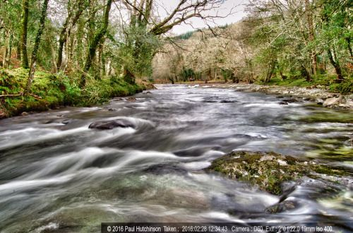 River Dart near Holne Bridge 2 second exposure to... | Paul's Tumblr Blog