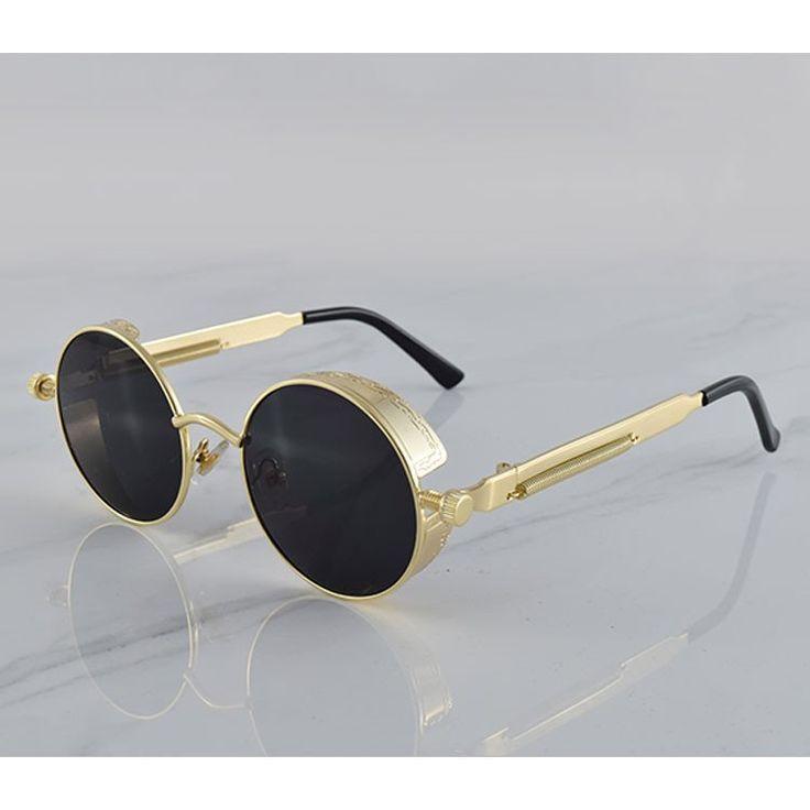 Round Steampunk Sunglasses