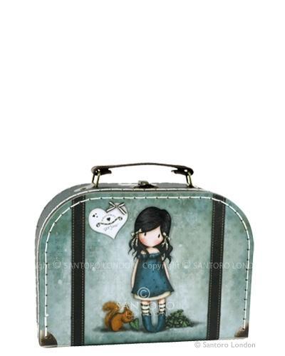 Small suitcase box - You brought me love, Santoros Gorjuss