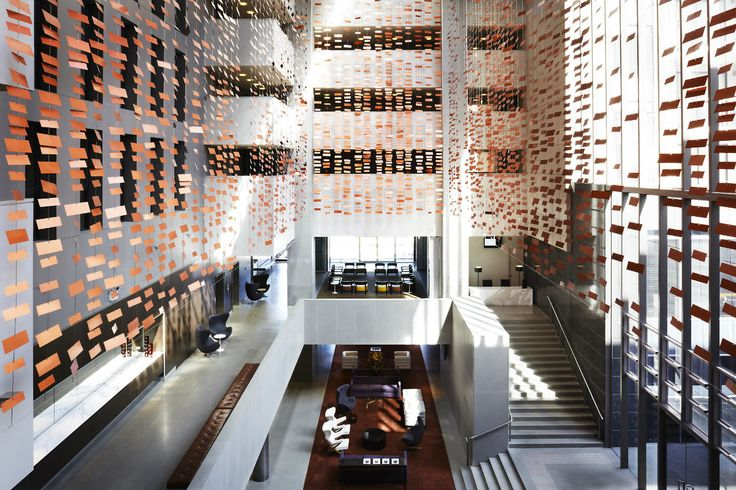 The foyer of Hotel Realm in Canberra... #Australia