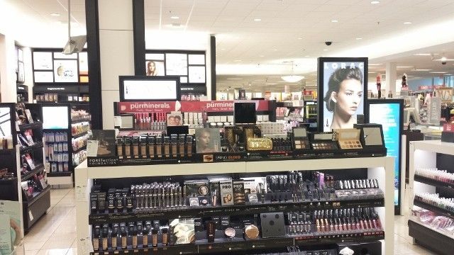Beauty brands at Kohl's department store.