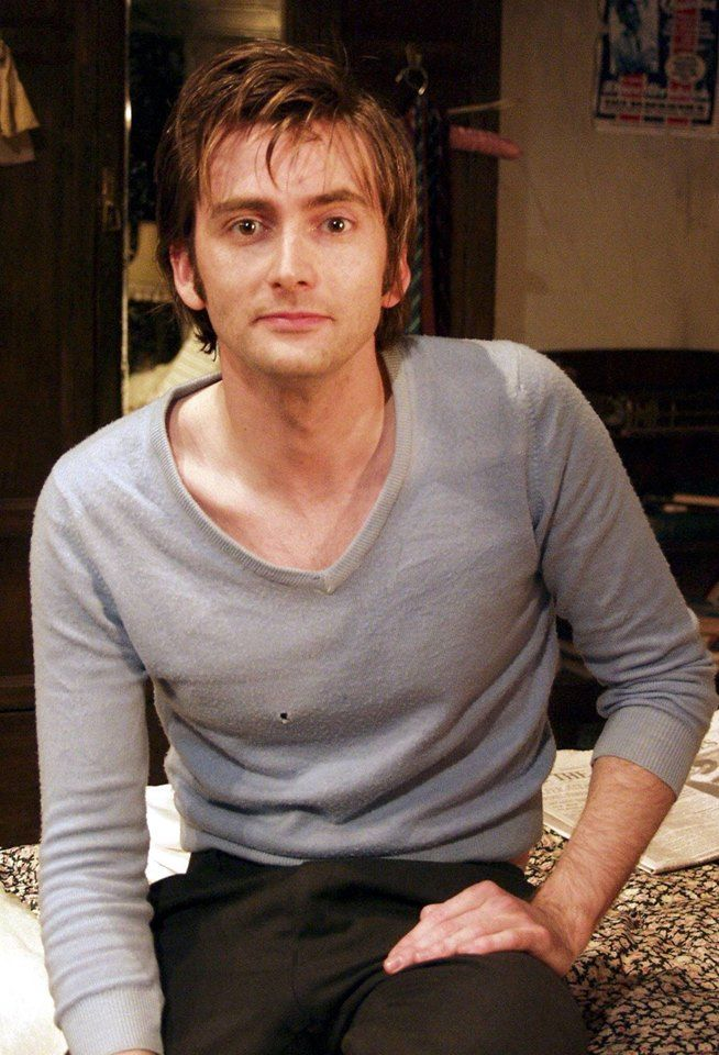 David Tennant as Jimmy Porter in Look Back In Anger (2005)                                                                                                                                                                                 More