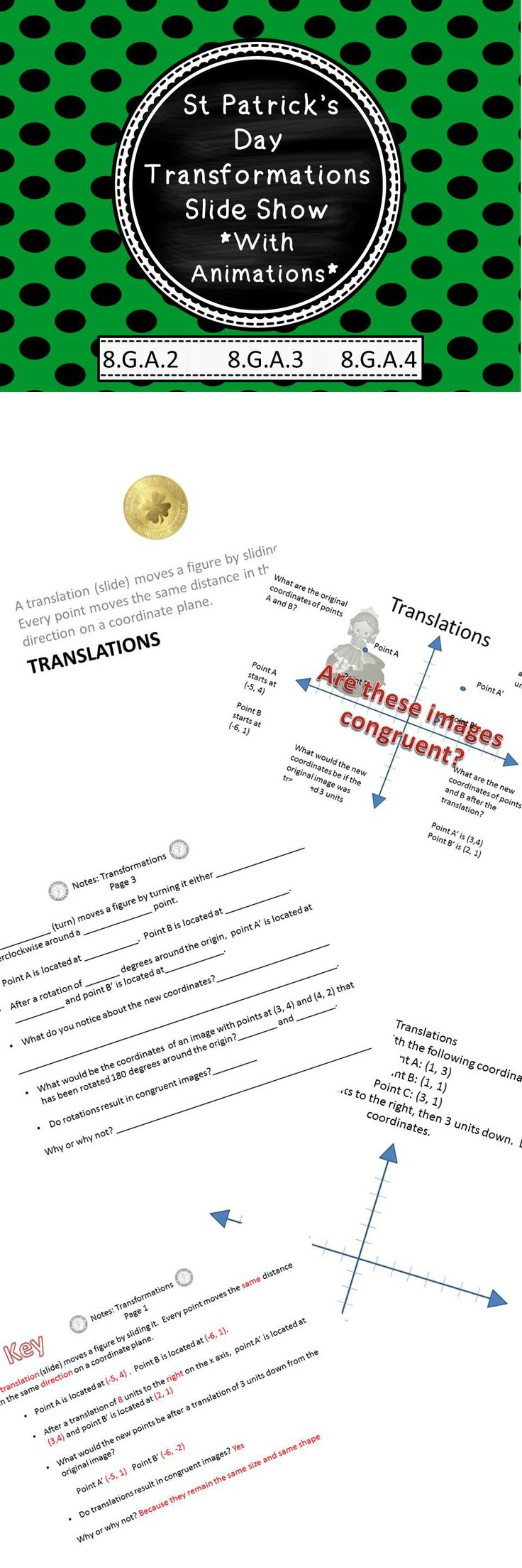 worksheet Translations Worksheets the 25 best translation in math ideas on pinterest tesla this ppt show and coordinating worksheets product is packed with quality animations definitions examples for rotations dilations