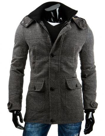 Športový kabát s melírom