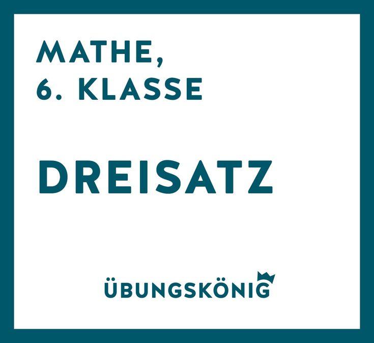 Kostenlose Arbeitsblätter und Übungen als PDF zum Dreisatz für Mathe ...