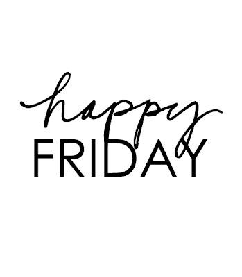Happy Friday everyone!