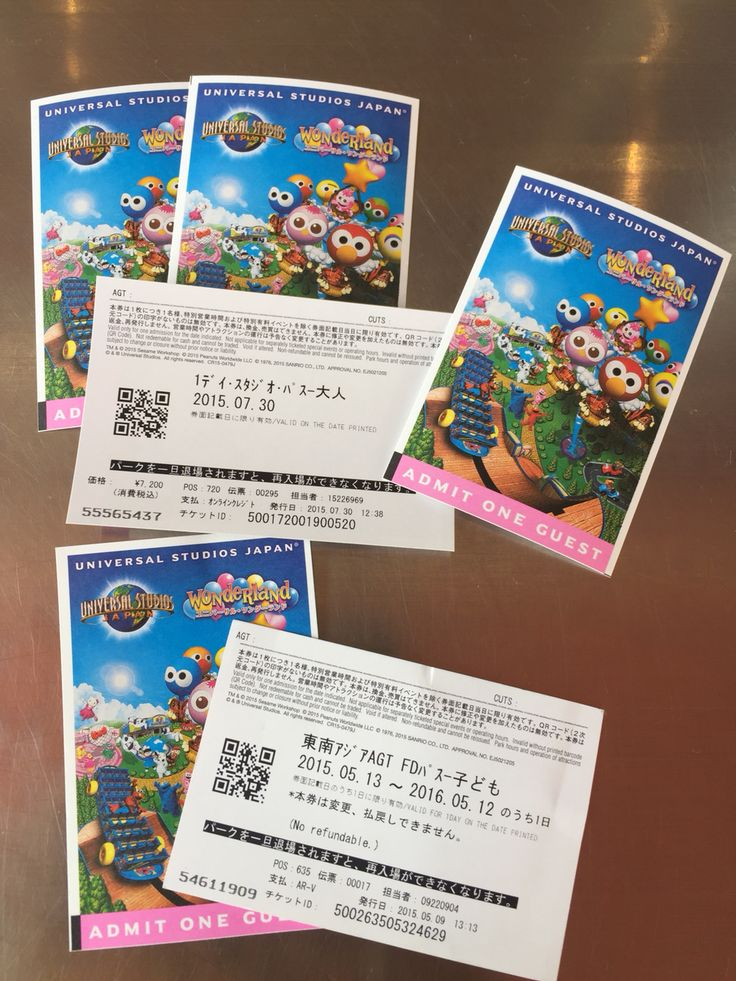 Universal Studio Ticket Japan