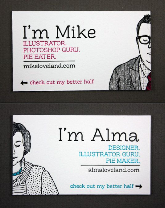 Mike Loveland / Alma Loveland mikeloveland.com / almaloveland.com . For custom business card printing, visit www.unifiedmanufa... Free business card design http://www.plasticcardonline.com/