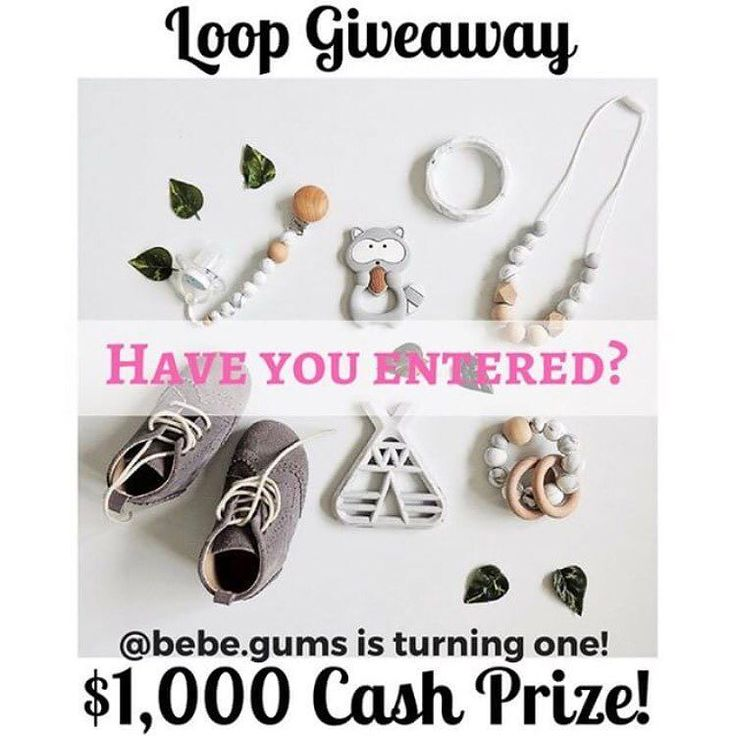 Have you entered our giveaway to win $1000 CASH? Head to our original post to enter! . . . . . #bebegums #shopping #shoppingspree  #smallbusiness #shopaholic #babyfashion #supportsmall #shoplocal #nurseryinspo  #babyshop  #onlinegifts #loveauntyamy #babyshowerinspo #supportsmallbusiness  #loveauntyamyloop #perfectpresent #babylove #babywearing #organicbaby #organicnursery #ecomum #mumtobe #mumlife #winbig #ausgiveaway #newbaby #babyessentials