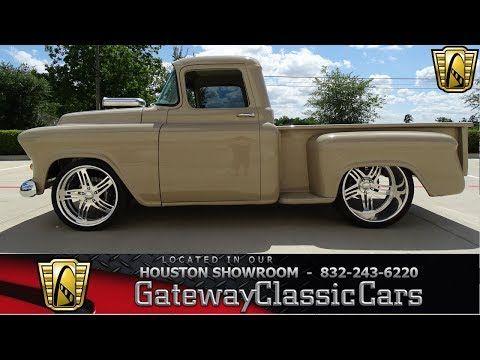 Classic 1955 Chevrolet Apache For Sale 2109561 79 000 Houston