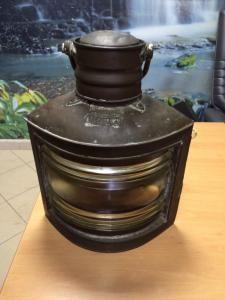 Stara stara lampa jachtowa - unikat , sygnowana (6147086847) - Allegro.pl - Więcej niż aukcje.