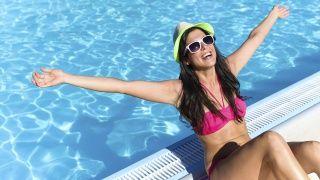 Dealing with sunburned, peeling skin